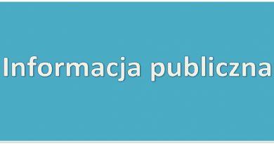 Wniosek o udzielenie informacji publicznej
